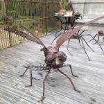 David Vanorbeek's metal sculpture