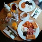 Breakfast (blurred sorry)