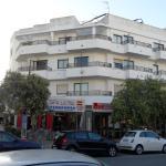 Hotellet från gatan