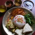 Thakali thali