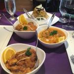 Vindaloo offers a wonderful selection of vegetarian entrees