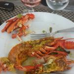 1/2 homard. ....