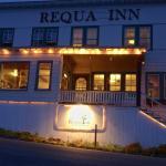 Lights on at the Requa Inn