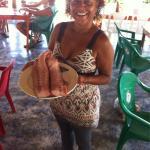 Mami with fresh dorado