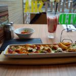 My lunch/dinner/breakfast in Pizza Hut at North Bridge