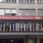 Kanchi indian restaurant right Opp to ambassador for some indian food