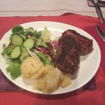 Fillet steak cooked medium