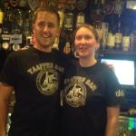 Jane and Patric great bartenders