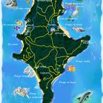 This is a map of Saboga in Las Perlas.  You can get there by ferry from Panama City