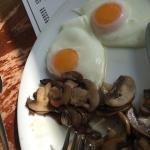Lovely eggs & mushrooms