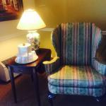 Chintz chair