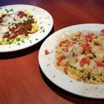 Ravioli du Jour and Spicy Tuscan Chicken