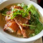 duck noodles soup- too salty
