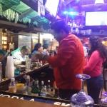 Best bartenders in town! In the Plaza Real!