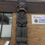 Totem Family Poles