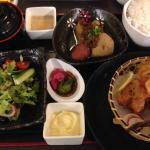 Nice food at their Japanese restaurant