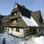 Hotel Boruta zimą