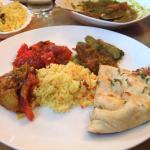 All different curries tasted great and special.