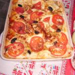 Vegetable Lasagne, a house speciality