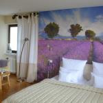 Our room: the lavander suit