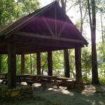 Picnic Shelter at the Broad River Greenway