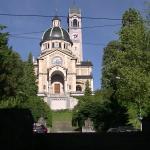 ホテル近くのエンゲ教会。