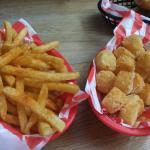 fries and tots