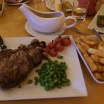 Gorgeous steak!