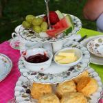 Beautiful tea service