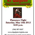 Flamenco Saturday, May 16th 2015