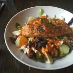 Scottish Salmon Salad