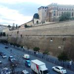 View of the Vatican Walls from the appartment