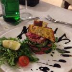 Tagliata spinaci e parmigiano!!