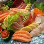 Chef special custom made sashimi platter