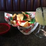 Chips, Salsa, and Margarita ... YUM!