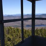 From the firetower.