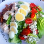 Colorful cobb salad with turkey @healthy_italian