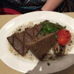 Kibbee with rice
