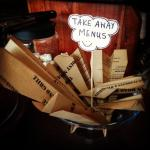 Grab a takeaway menu before they fly away