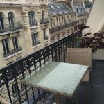 Балкончик в улучшенном номере