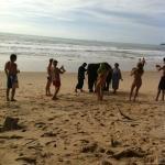 слоник на пляже