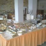 Le buffet du Petit-déjeuner