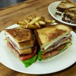 Our ham and cheese club, we have the best sandwiches! So we have been told