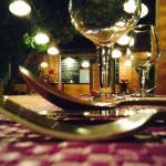 ...Table setting...