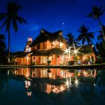 Villa Magnolia by night