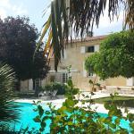 La Maison, Le jardin et la piscine