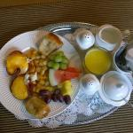 Delicious breakfasts in-room or in the small dining area
