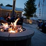 Enjoy a Cocktail by the Outdoor Fire Pits