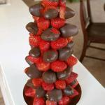 fraises chocolat