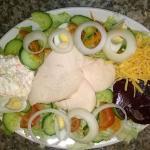 chicken salad £4.50